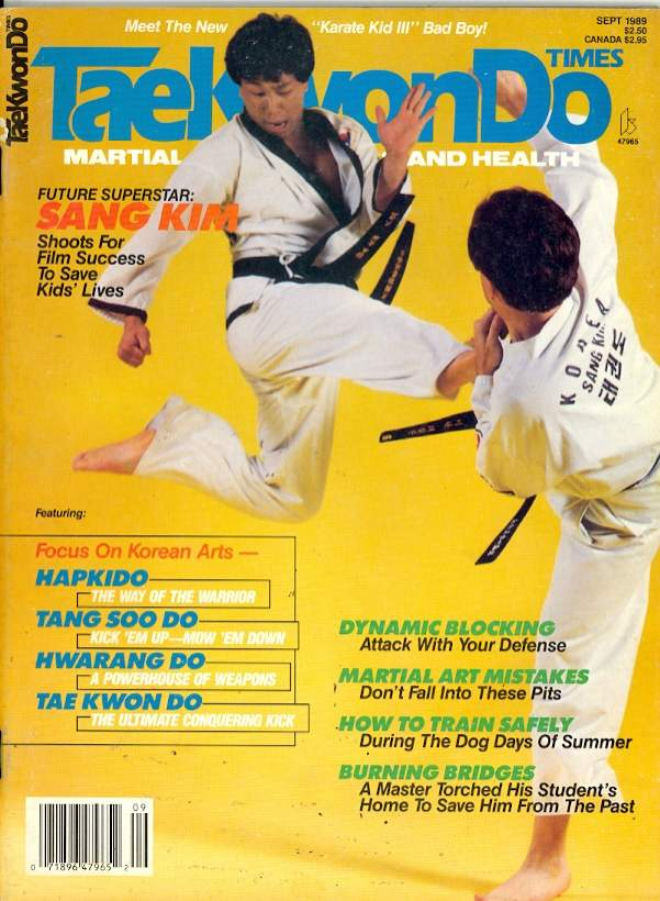 09/89 Tae Kwon Do Times