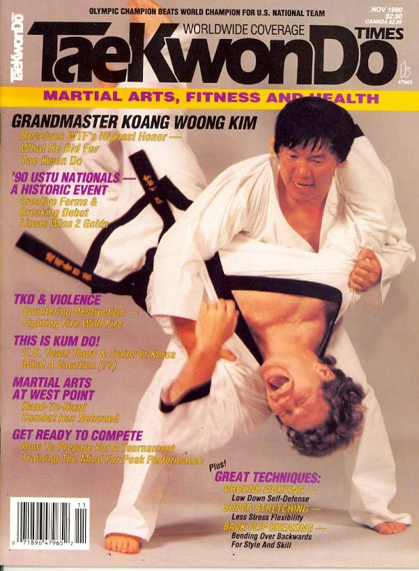 11/90 Tae Kwon Do Times