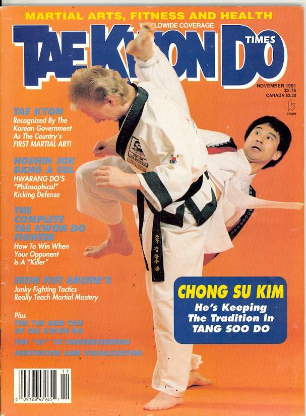 11/91 Tae Kwon Do Times