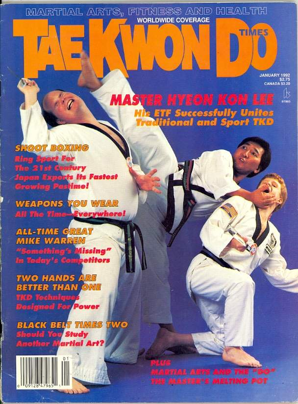 01/92 Tae Kwon Do Times