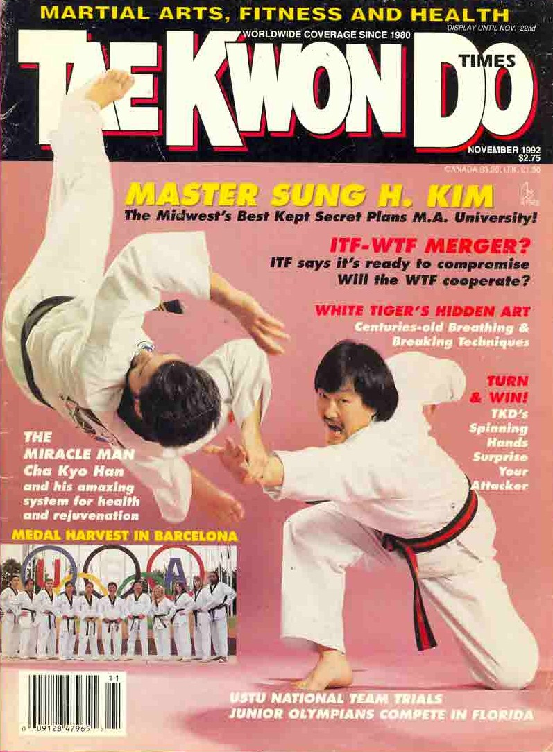 11/92 Tae Kwon Do Times