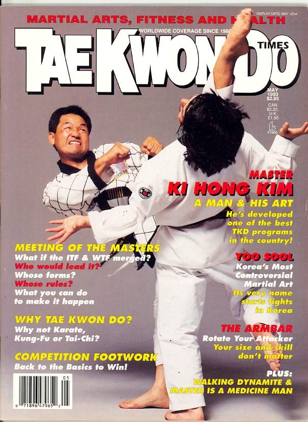 05/93 Tae Kwon Do Times