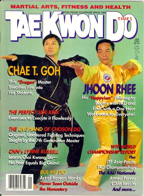 01/94 Tae Kwon Do Times