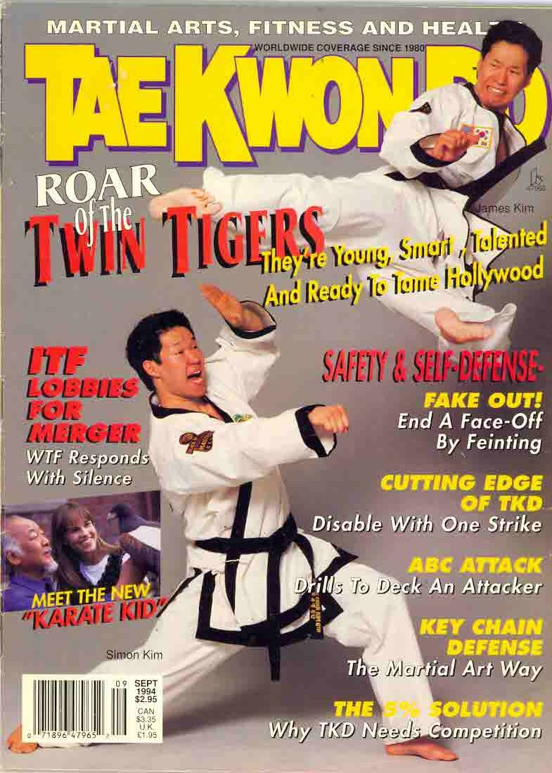 09/94 Tae Kwon Do Times