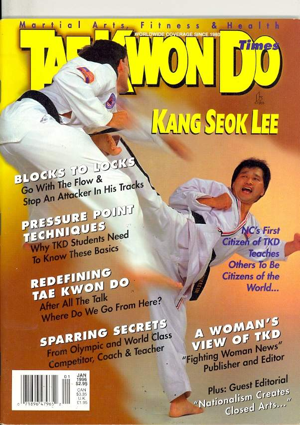 01/96 Tae Kwon Do Times