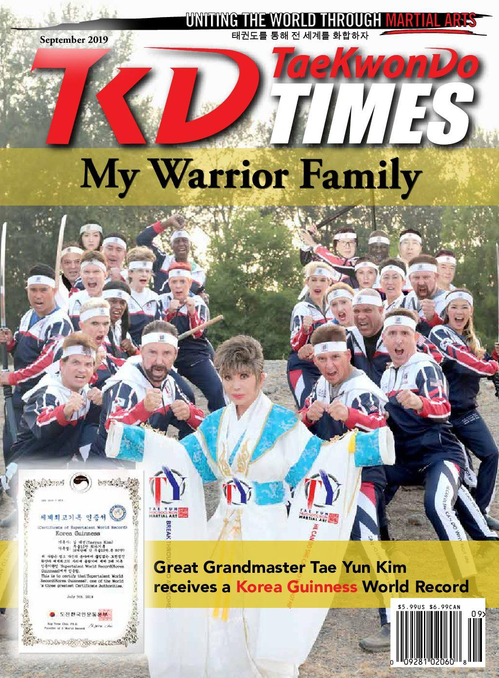 09/19 Tae Kwon Do Times