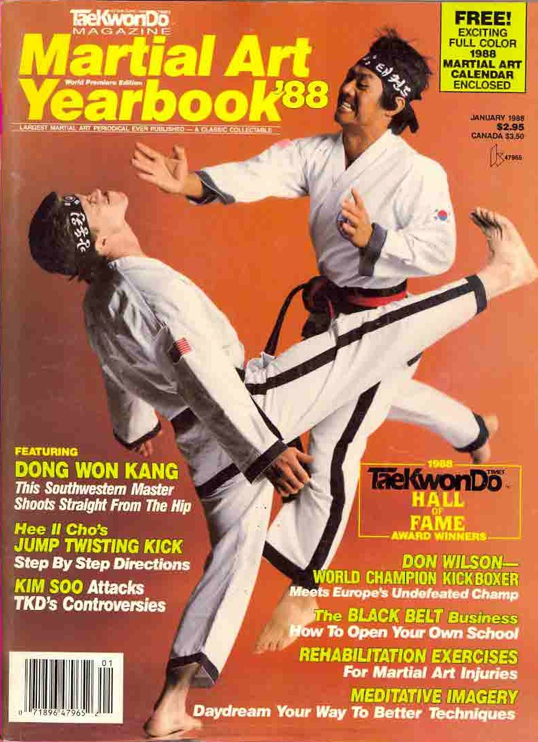 01/88 Tae Kwon Do Times Yearbook