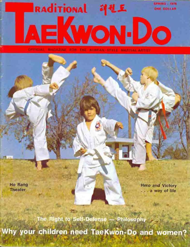 Spring 1976 Traditional Tae Kwon Do
