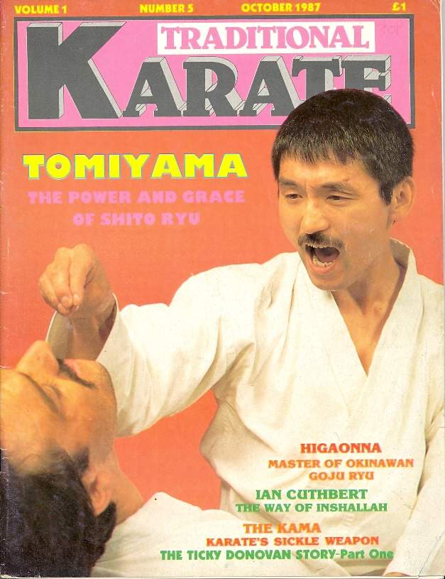 10/87 Traditional Karate
