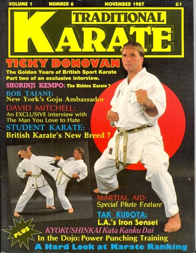 11/87 Traditional Karate
