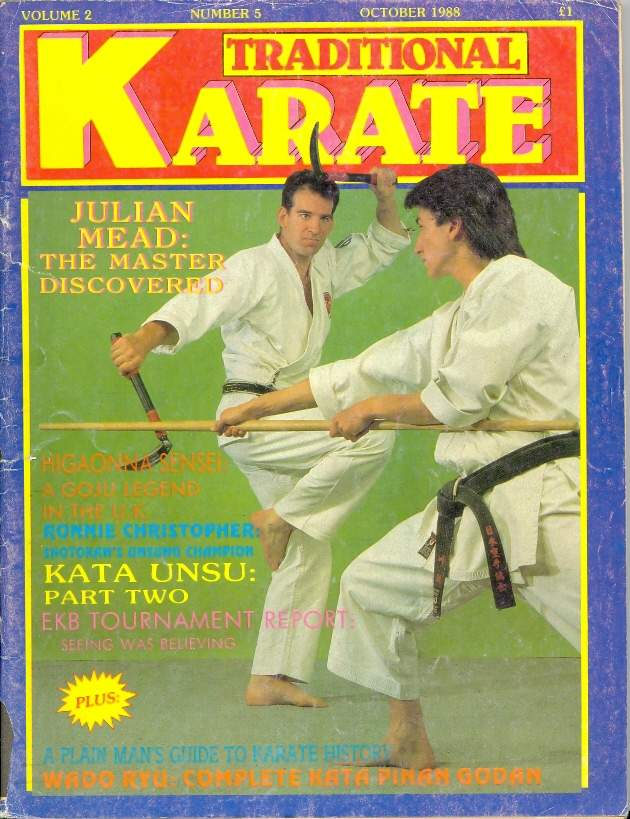 10/88 Traditional Karate