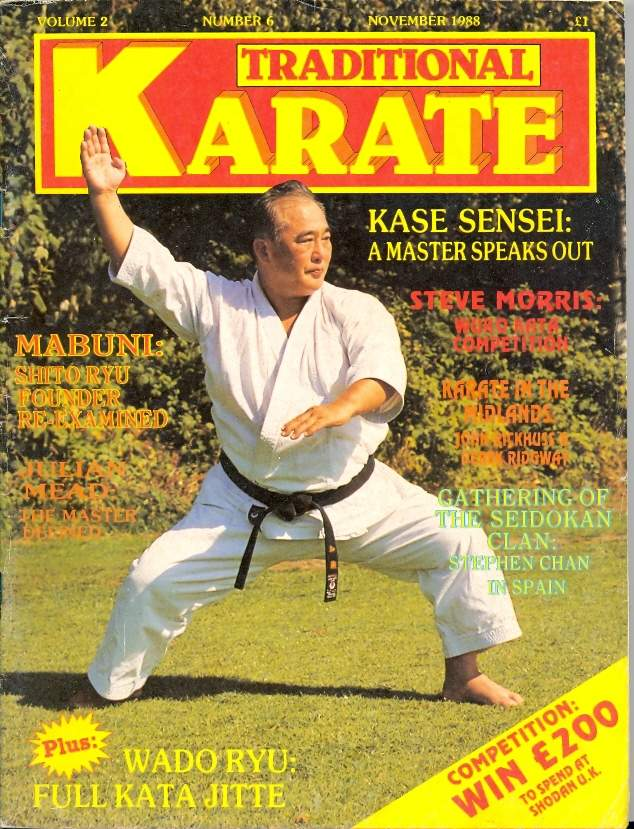 11/88 Traditional Karate