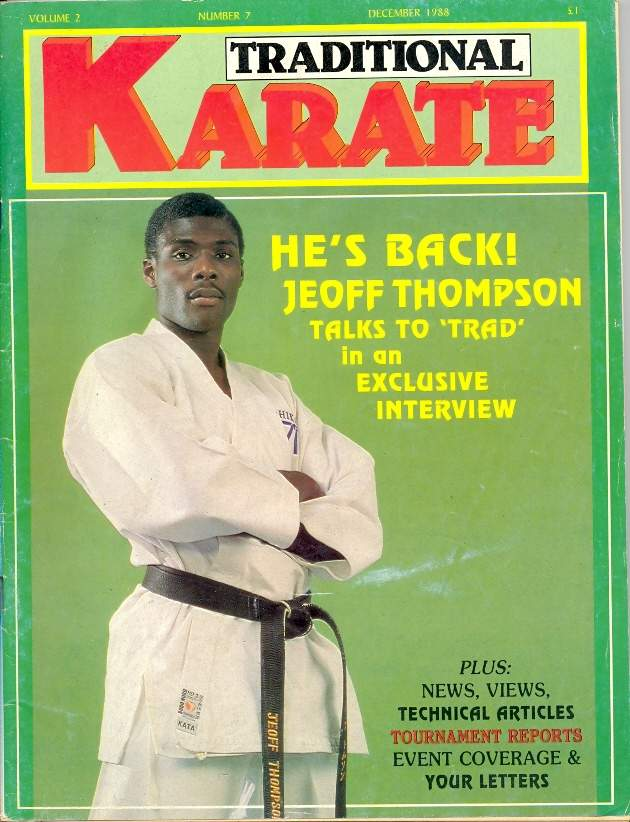12/88 Traditional Karate