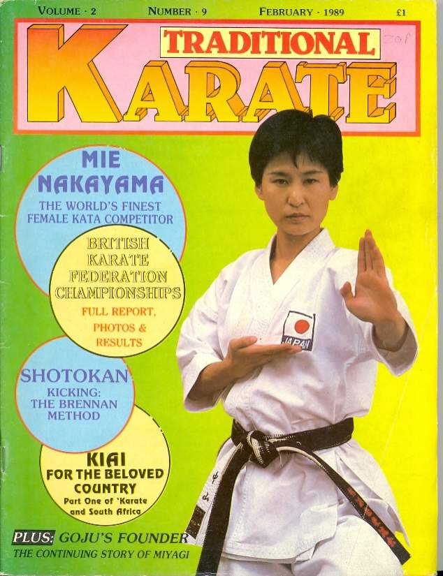 02/89 Traditional Karate