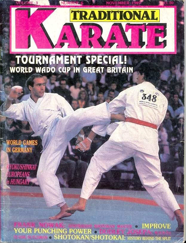 11/89 Traditional Karate