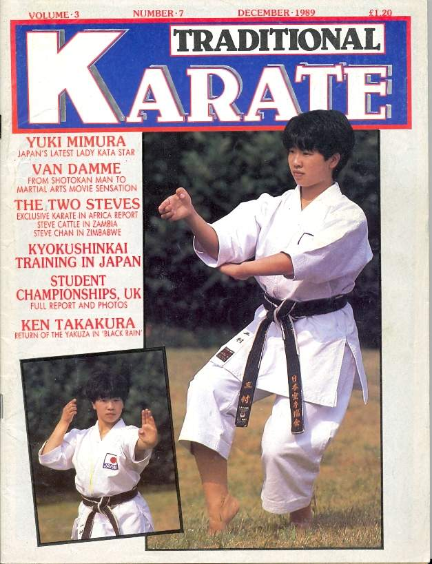 12/89 Traditional Karate