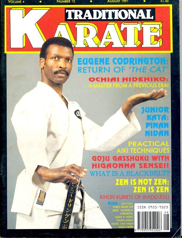 08/91 Traditional Karate