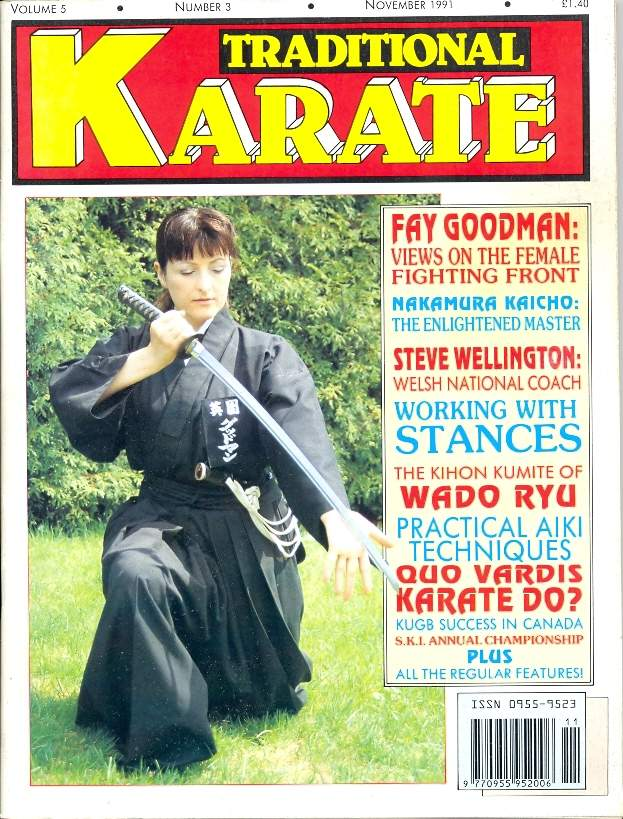 11/91 Traditional Karate
