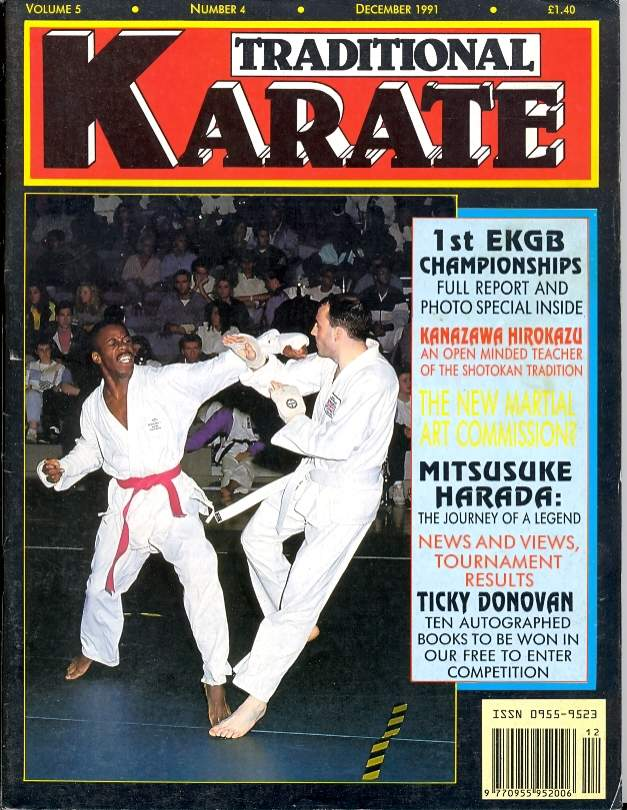 12/91 Traditional Karate