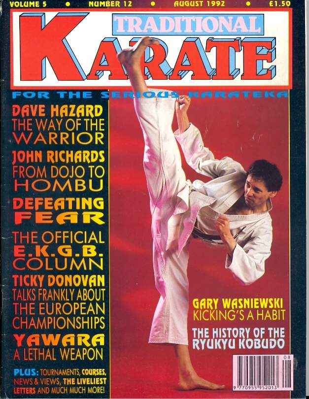08/92 Traditional Karate