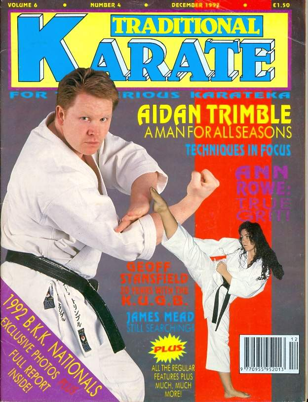 12/92 Traditional Karate