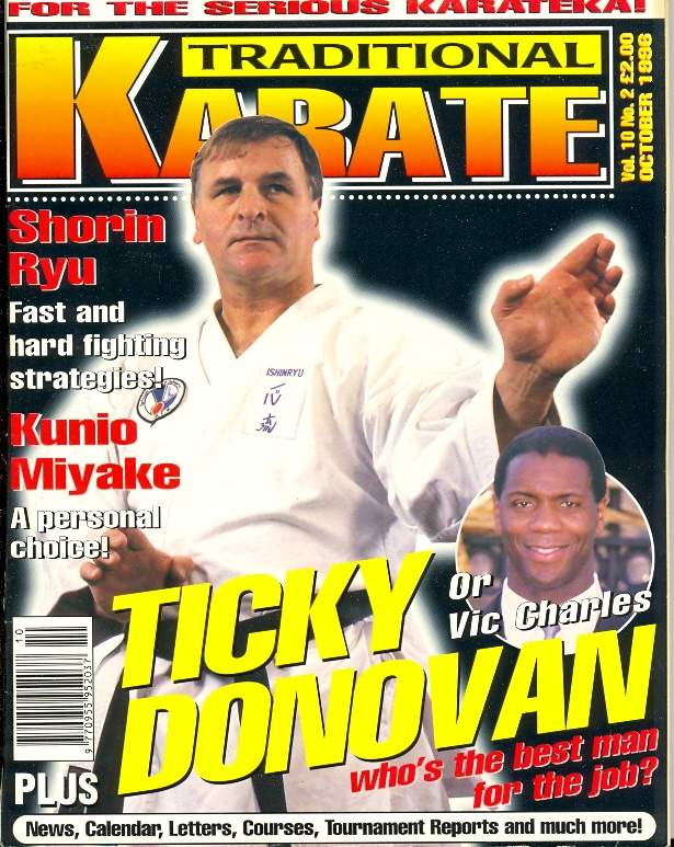 10/96 Traditional Karate