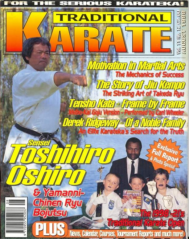 08/98 Traditional Karate