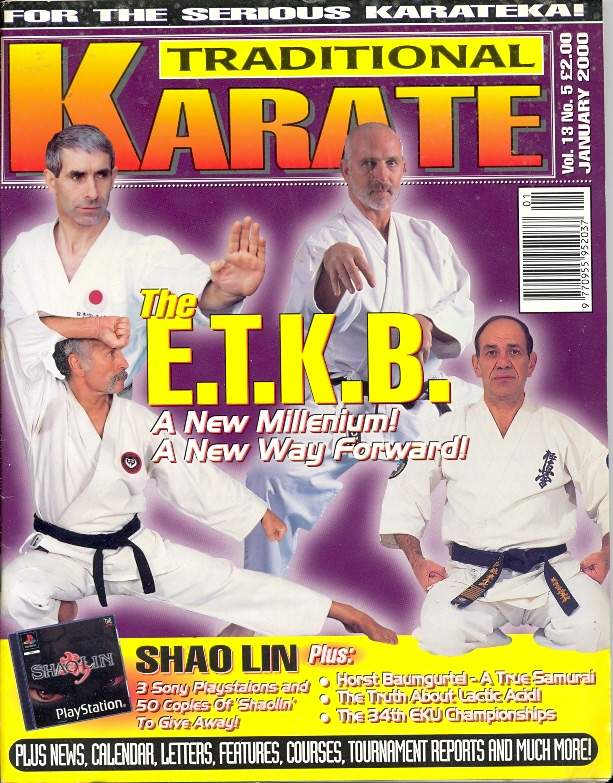 01/00 Traditional Karate