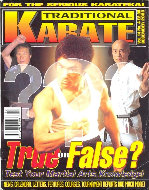 12/00 Traditional Karate