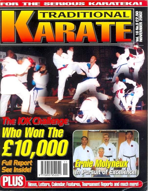 11/02 Traditional Karate