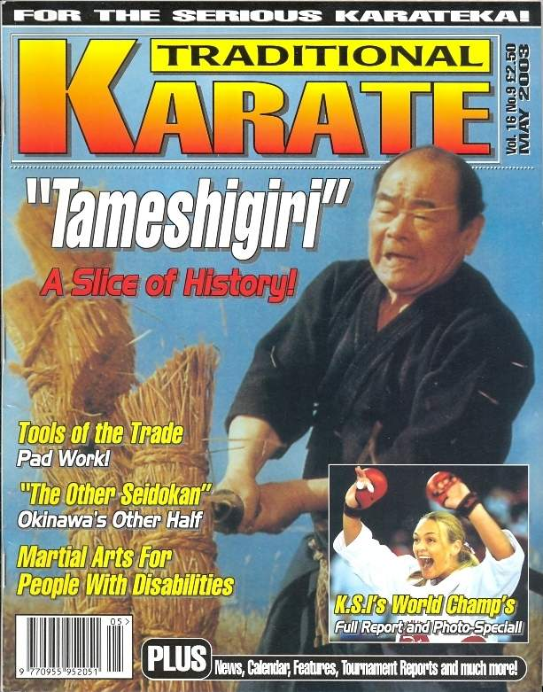 05/03 Traditional Karate
