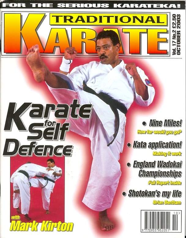 10/03 Traditional Karate