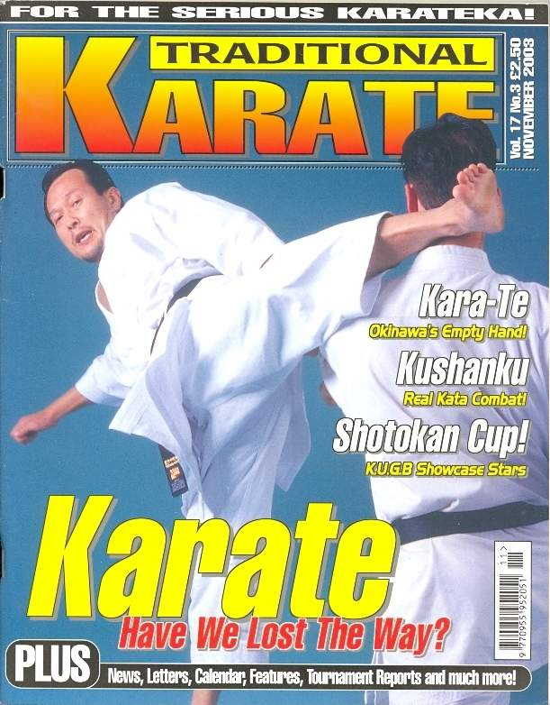 11/03 Traditional Karate