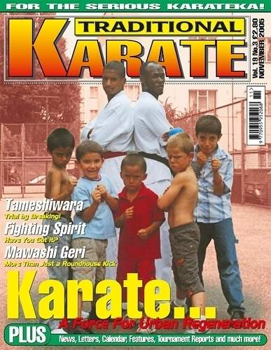 11/05 Traditional Karate