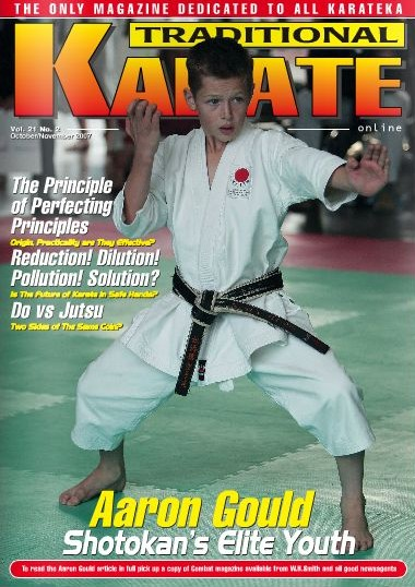 10/07 Traditional Karate