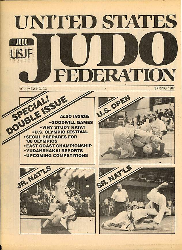 Spring 1987 United States Judo Federation Newspaper