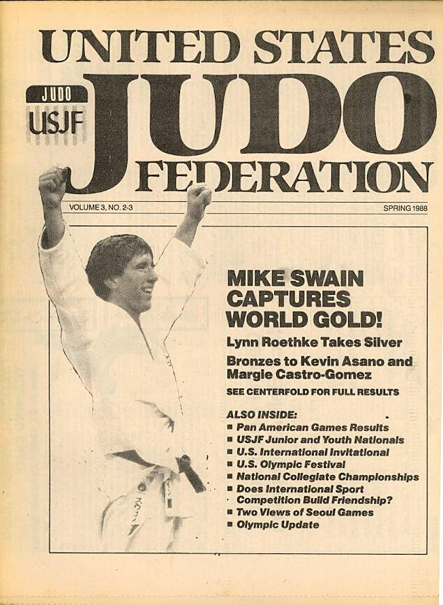 Spring 1988 United States Judo Federation Newspaper