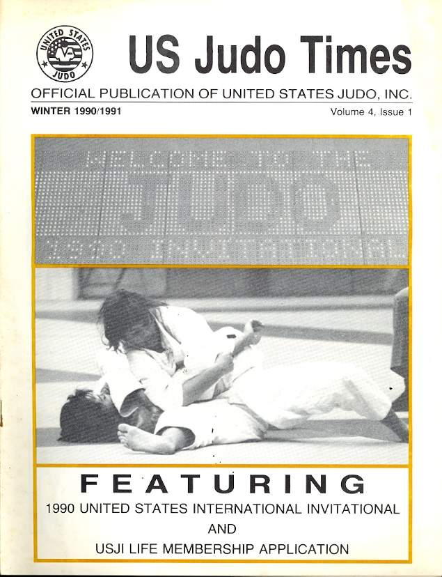 Winter 1990 US Judo Times