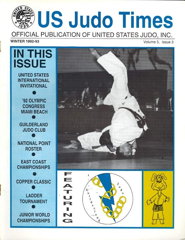 Winter 1992 US Judo Times
