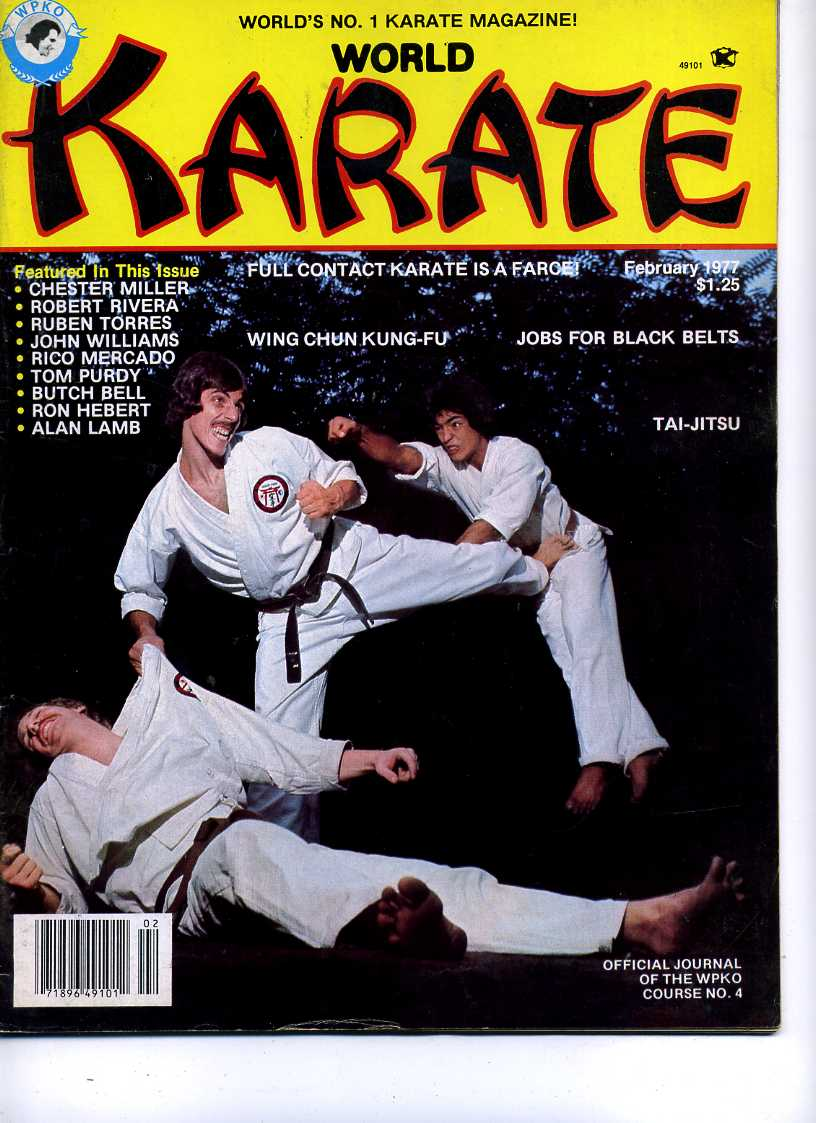 01/77 World Karate