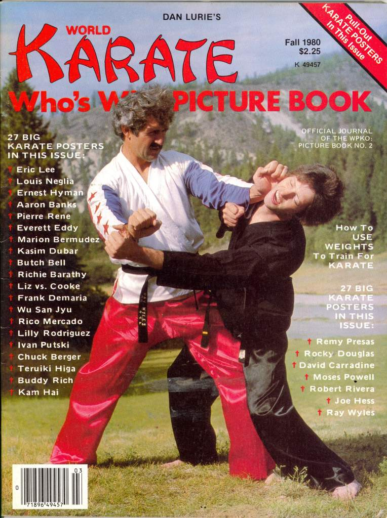 Fall 1980 World Karate Who's Who Picture Book