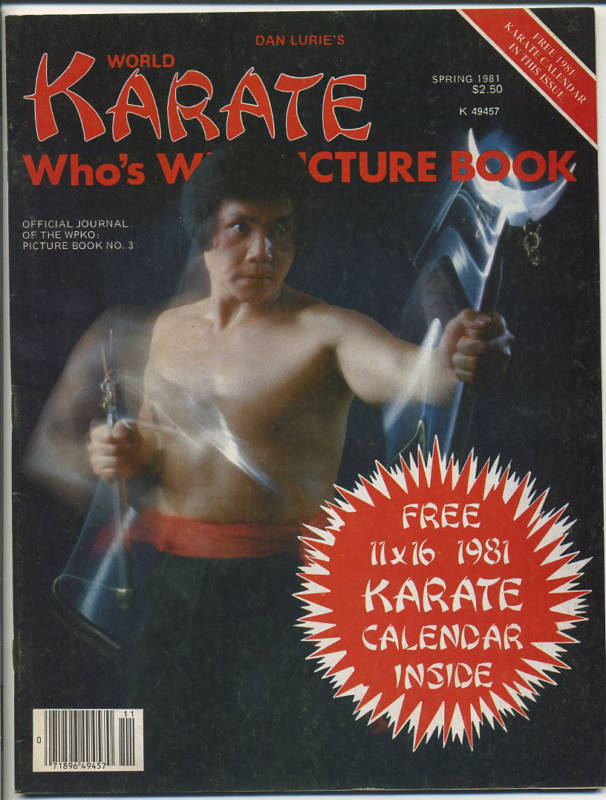 Spring 1981 World Karate Who's Who Picture Book